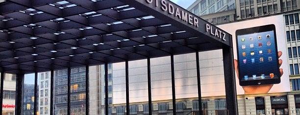 Bahnhof Berlin Potsdamer Platz is one of Sbahn berlin.