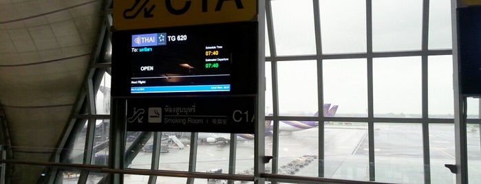 Gate C1A is one of TH-Airport-BKK-1.