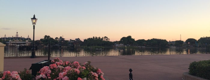 IllumiNations Sparkling Dessert Party is one of Epcot World Showcase.