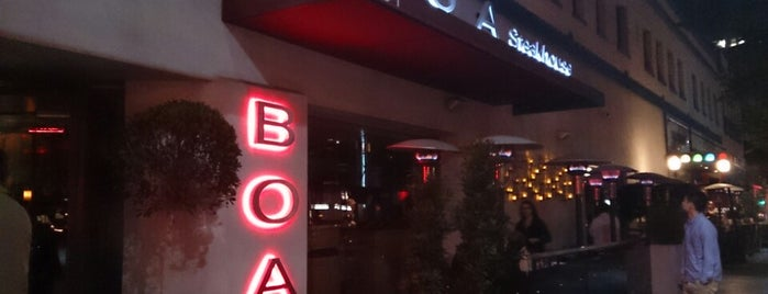 BOA Steakhouse is one of The Best Food I've Ever Had.