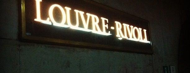 Métro Louvre-Rivoli [1] is one of Stations de metro a Paris.