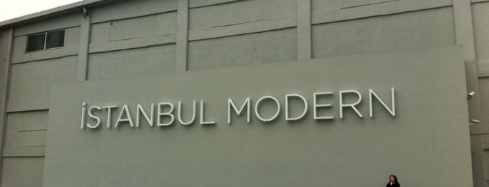 Istanbul Modern is one of İstanbul'daki Müzeler (Museums of Istanbul).