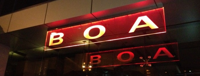 BOA Steakhouse is one of Beyond Eats!.