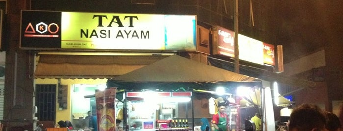 Tat Nasi Ayam is one of Favorite Food.