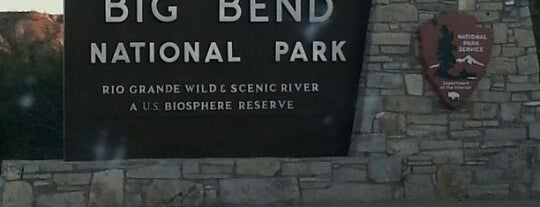 Big Bend National Park is one of Great Outdoors.