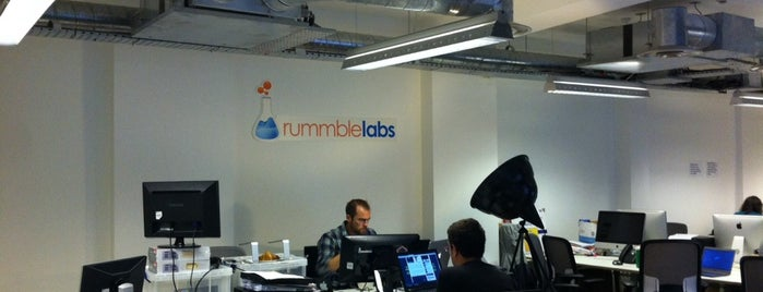 Rummble Labs is one of Silicon Roundabout / Tech City London (Open List).