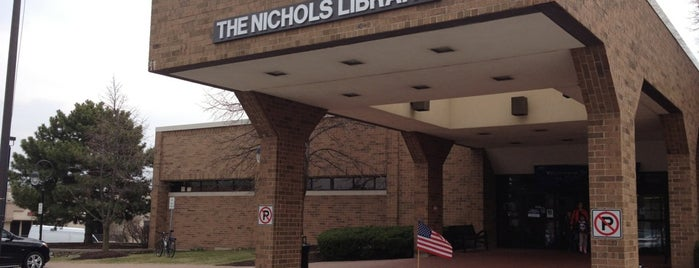Nichols Library: NPL is one of Libraries.