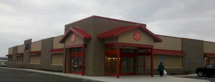 The Salvation Army is one of Top Ten Thrift Stores in Cleveland and NE Ohio.