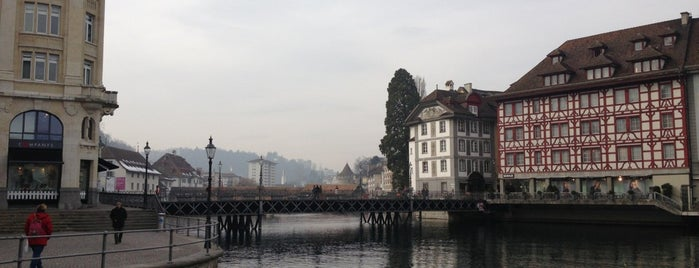 Reussbrücke is one of Discover Lucerne.