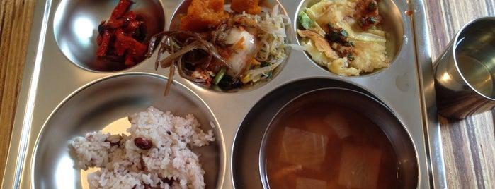 순수식판 is one of Itaewon food.