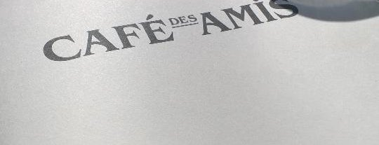 Café Des Amis is one of Free WLAN.