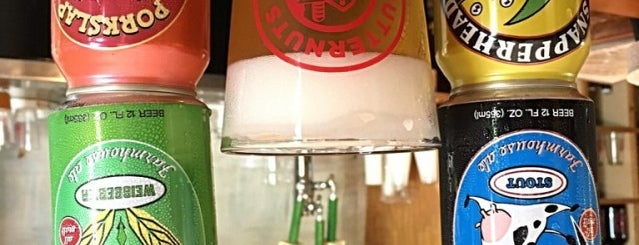 Butternuts Beer & Ale is one of Brooklyn Pour Breweries 2012.