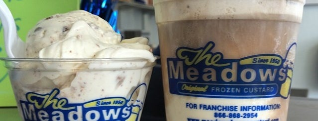The Meadows Original Frozen Custard is one of Our Partners.
