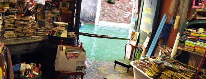 Libreria Acqua Alta is one of Best spots in Venice.