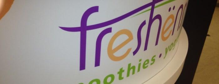 Freshen's Smoothies & Yogurt is one of IU Badge.