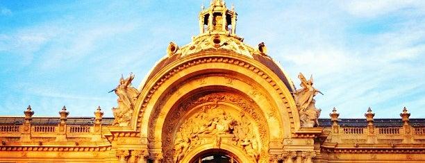 Petit Palais is one of Musées de Paris.