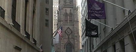 Trinity Church is one of New York.