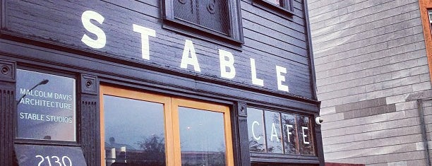 Stable Cafe is one of mic check.