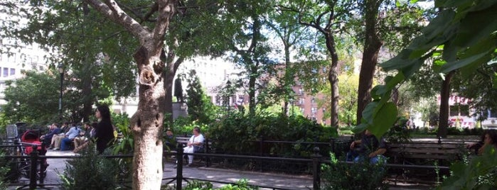 Union Square Park is one of NYC's Presidential Haunts.