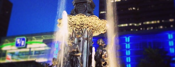 Fountain Square is one of Documerica.