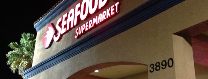 Seafood City is one of Vegas places.