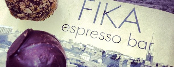 FIKA Espresso Bar is one of NYC caffeine fix..
