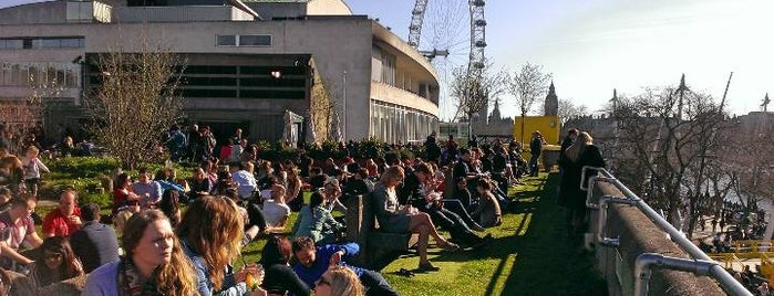 Southbank Centre Roof Garden, Café & Bar is one of Evermade.com.