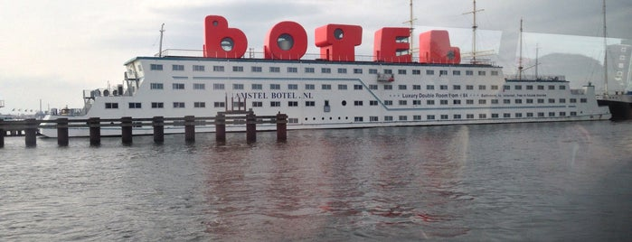 Amstel Botel is one of I ♥ Noord.