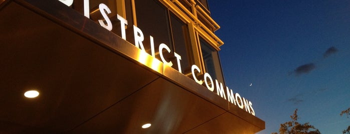 District Commons is one of T+L's Definitive Guide to Washington D.C..