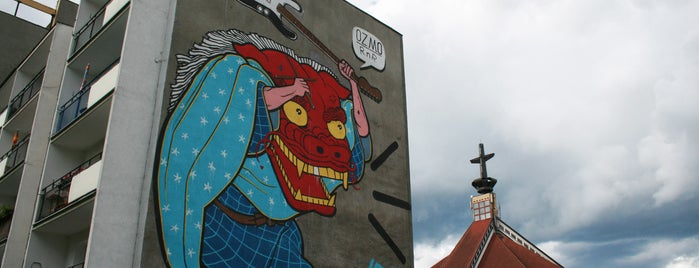 Ozmo - Gionatta Gessi, Monumental Art 2009 is one of Murale Gdańsk Zaspa.