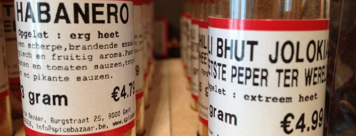 Spice Bazaar is one of To-Do in Ghent.