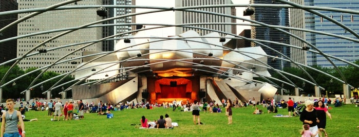 Jay Pritzker Pavilion is one of Must-visit Music Venues in Chicago.