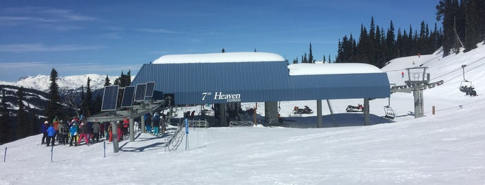 7th Heaven Express is one of Skigebiete.