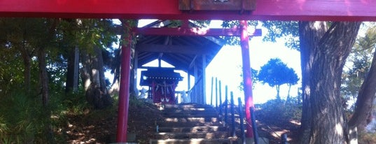 狐崎稲荷神社 is one of Shinto shrine in Morioka.