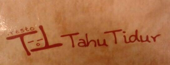 Tahu Tidur Resto is one of Food Spots @Bandung.