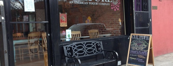 Culture: An American Yogurt Company is one of 2012 Choice Eats Restaurants.