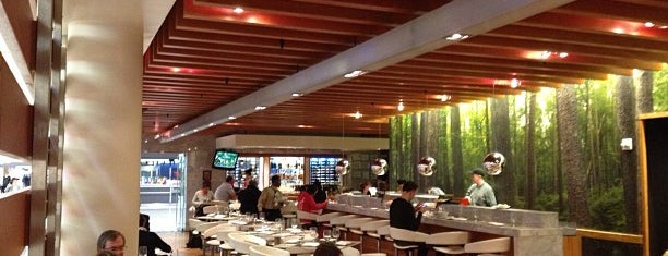 One Flew South Restaurant & Sushi Bar is one of Top Airport Restaurants for the Holidays.