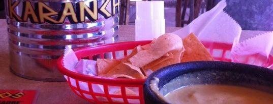 Karanchos is one of Houston Press - 'We Love Food' - 2012.