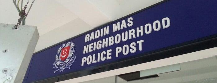 Radin Mas Neighbourhood Police Post is one of Singapore Police Force.
