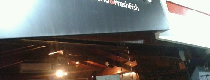 Okumura - Temakeria & Freshfish is one of Santos Japonesa.