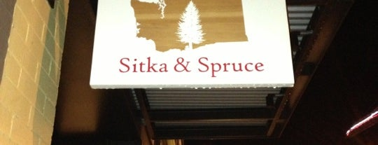 Sitka and Spruce is one of Seattle.