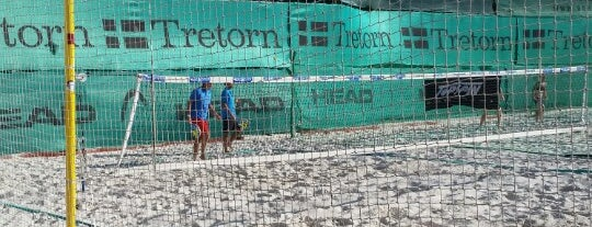 Beach Tenis Kapitol is one of Beach volejbal v Praze.