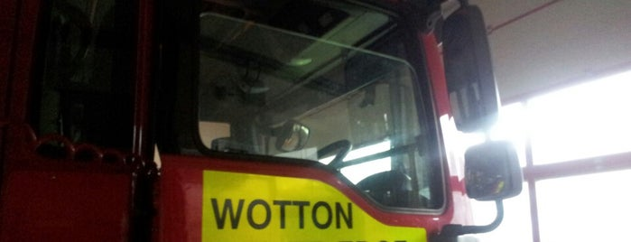 Wotton-under-Edge Community Fire & Rescue Station is one of Glos Fire & Rescue.