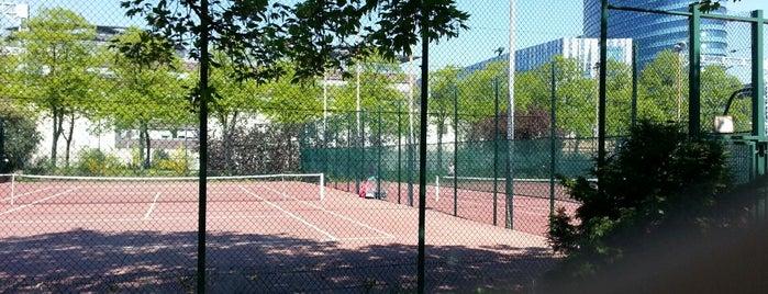 Tennis Suzanne Lenglen is one of Parcs & Jardins de Paris.