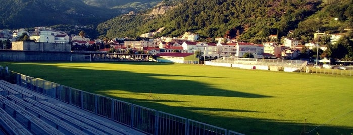Stadion Lugovi | F.K. Mogren is one of Favorite Arts & Entertainment.