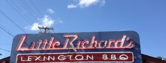 Little Richard's Lexington BBQ is one of Winston Salem's Best.