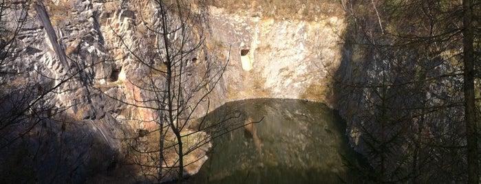 Malá Amerika is one of Doly, lomy, jeskyně (CZ).