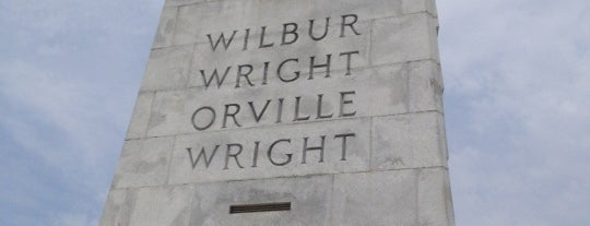 Wright Brothers National Memorial is one of Mid-Atlantic tourist sites..
