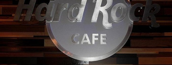 Hard Rock Cafe Seattle is one of 20 favorite restaurants.