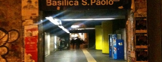 Metro Basilica San Paolo (MB) is one of Muoversi a Roma.